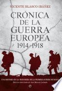 Libro de Crónica De La Guerra Europea 1914 1918