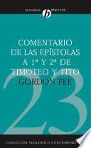 Libro de Comentario De Las Epistolas 1 Y 2 De Timoteo Y Tito