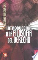 Libro de Introducción A La Filosofía Del Derecho
