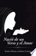 Libro de Nació De Un Verso Y El Amor
