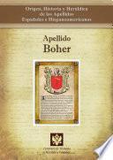 Libro de Apellido Boher