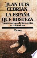 Libro de La España Que Bosteza