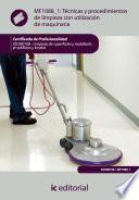 Libro de Técnicas Y Procedimientos De Limpieza Con Utilización De Maquinaria. Sscm0108