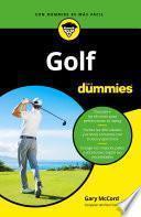 Libro de Golf Para Dummies