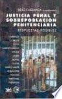 Libro de Justicia Penal Y Sobrepoblación Penitenciaria