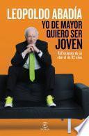 Libro de Yo De Mayor Quiero Ser Joven
