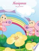 Libro de Mariposas Libro Para Colorear 1