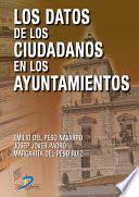 Libro de Los Datos De Los Ciudadanos En Los Ayuntamientos