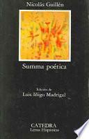 Libro de Summa Poetica