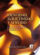 Libro de Identidad, Subjetividad Y Sentido En Las Sociedades Complejas