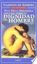 Libro de Discurso Sobre La Dignidad Del Hombre