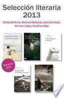 Libro de Fragmentos Literarios Primavera 2013