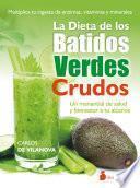 Libro de La Dieta De Los Batidos Verdes Crudos