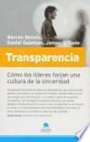 Libro de Transparencia