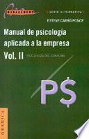 Libro de Manual De Psicología Aplicada A La Empresa