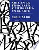 Libro de Arte En La Tipografía Y Tipografía En El Arte