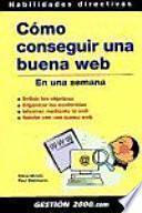 Libro de Cómo Conseguir Una Buena Web En Una Semana