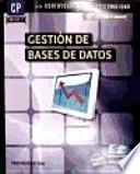 Libro de Gestión De Bases De Datos (mf0225_3)