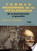 Libro de Formas Modernas De La Intolerancia