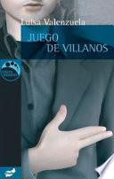 Libro de Juego De Villanos