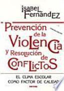 Libro de Prevención De La Violencia Y Resolución De Conflictos