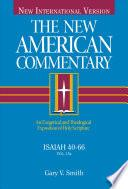 Libro de The New American Commentary   Isaiah 40 66