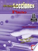 Libro de First Lessons Piano, Spanish Edition