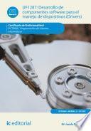 Libro de Desarrollo De Componentes Software Para El Manejo De Dispositivos. Ifct0609
