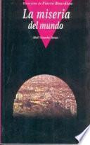 Libro de La Miseria Del Mundo