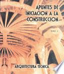 Libro de Apuntes De Iniciación A La Construcción Iii