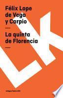 Libro de La Quinta De Florencia