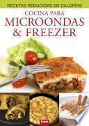 Libro de Cocina Para Microondas & Freezer