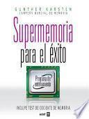 Libro de Supermemoria Para El éxito
