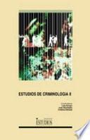 Libro de Estudios De Criminología Ii