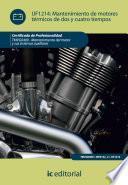 Libro de Mantenimiento De Motores Térmicos De Dos Y Cuatro Tiempos. Tmvg0409