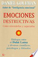 Libro de Emociones Destructivas
