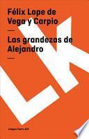 Libro de Las Grandezas De Alejandro