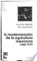 Libro de La Modernización De La Agricultura Mexicana