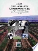 Libro de Durango. Tabulados Básicos Ejidales Por Municipio. Programa De Certificación De Derechos Ejidales Y Titulación De Solares Urbanos, Procede. 1992 1997